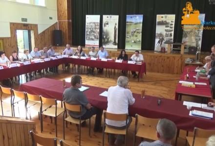Nagranie z VI sesji Rady Gminy Markuszów z dnia 27.08.2015 roku
