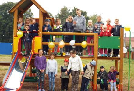 Nowy Plac Zabaw w Markuszowie