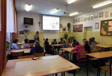 Zajęcia profilaktyczne dla dzieci i młodzieży w Zespole Szkół w Markuszowie