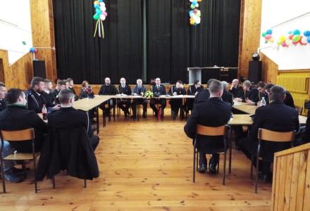 Walne zebranie sprawozdawczo – wyborcze w OSP Markuszów