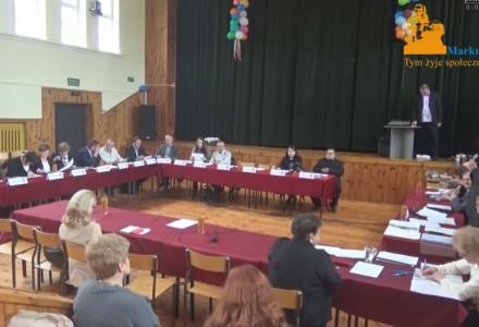 Nagranie z X sesji Rady Gminy Markuszów – 31.03.2016