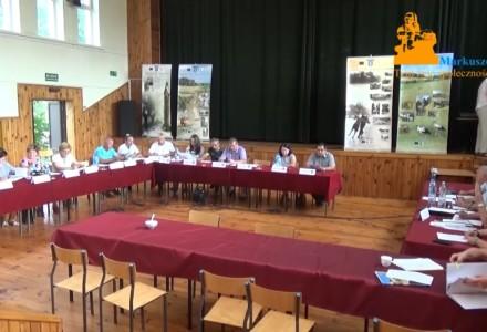 Nagranie z XII Nadzwyczajnej sesji Rady Gminy Markuszów – 26.07.2016