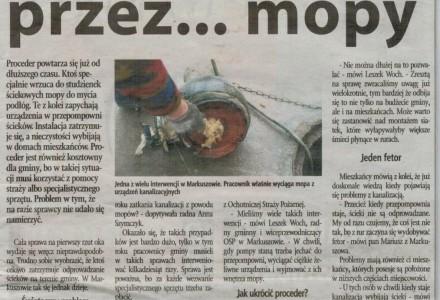 Wspólnota Puławska nr 26 (158) z dnia 28.06.2016 – zdjęcia z wyciągania mopa