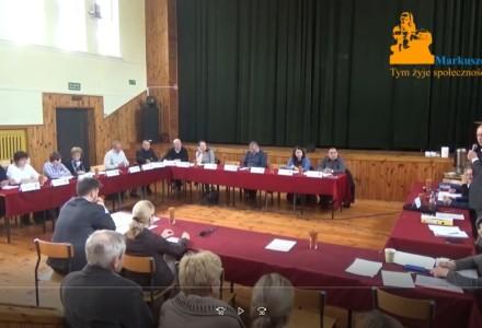 Nagranie z XIII sesji Rady Gminy Markuszów – 28.10.2016