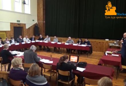 Nagranie z XIV sesji Rady Gminy Markuszów – 09.12.2016