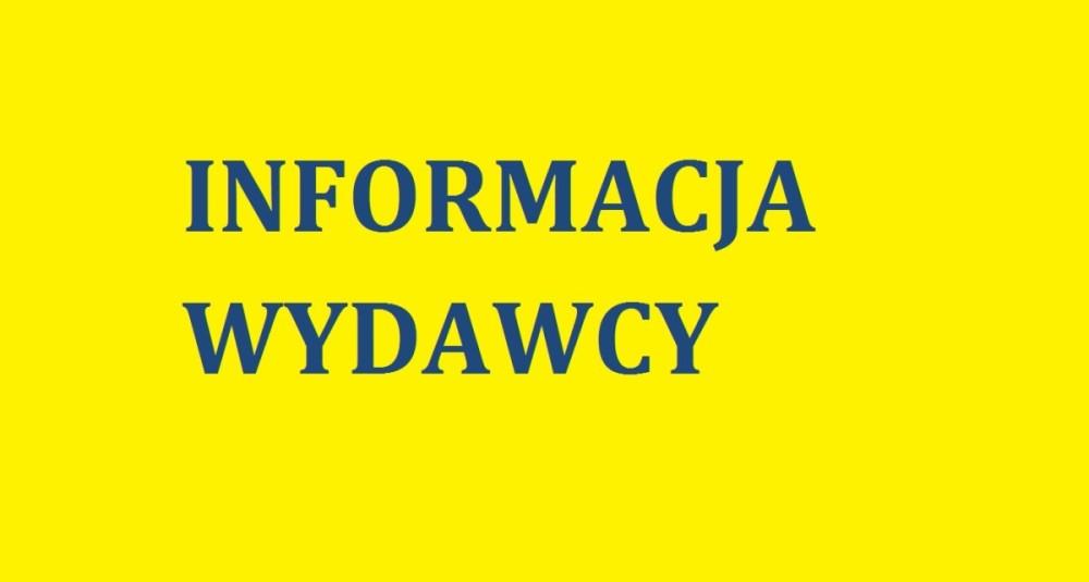 info wydawcy