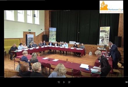 Nagranie z XIX sesji Rady Gminy Markuszów – 05.09.2017