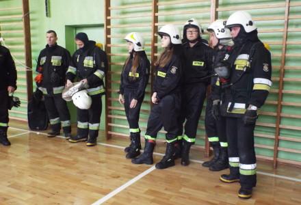 Ćwiczenia ewakuacyjne – Szkoła w Markuszowie