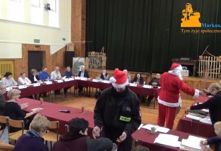 Nagranie z XX sesji Rady Gminy Markuszów – 06.12.2017