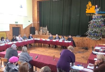 Nagranie z XXII  sesji Rady Gminy Markuszów – 25.01.2018