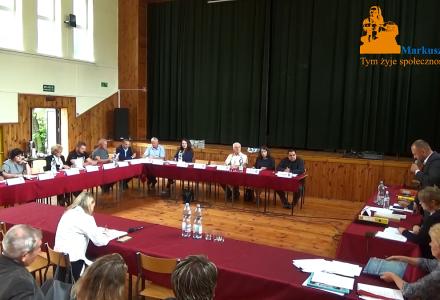 Nagranie z XXIV sesji Rady Gminy Markuszów – 26.06.2018